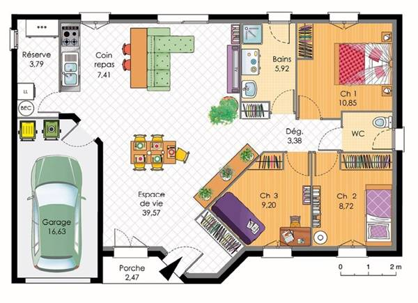 Plans Maison On Pinterest Floor Plans House Floor Plans