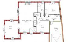 Plan maison en bois de plain pied