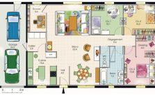 Plan De Maison Plein Pied Gratuit Plan De Maison Gratuit Plans Maisons