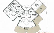 Plan maison en V pour faire construire sa maison