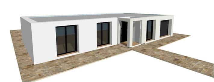 Sehr plan maison toit terrasse plain pied - Plans & maisons UZ74