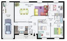Plan de maison rectangle gratuit