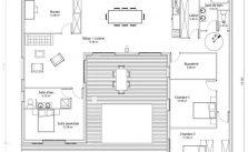 maison en u plans pour construire sa maison plan de maison moderne 100m2 - Plan Maison Moderne 100m2