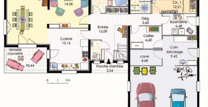 Plan Maison M Affordable Lobata M Modle A With Plan Maison