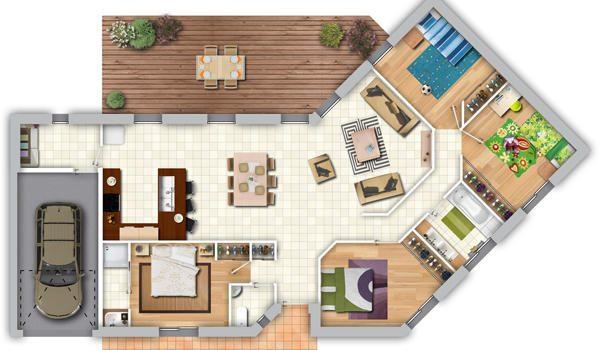 Maison Moderne Plans Pour Construire Sa Maison