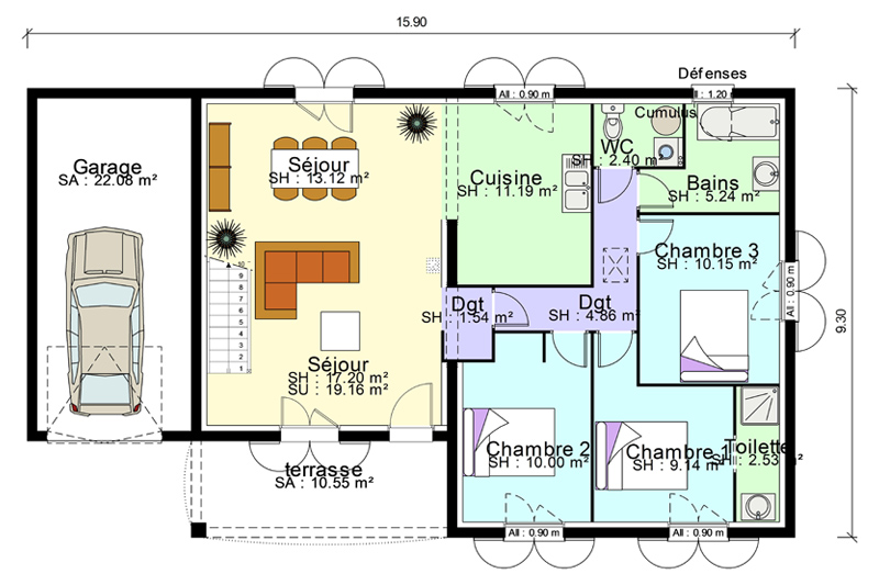 Garage Mezzanine Plan | Joy Studio Design Gallery - Best Design