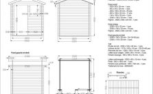 Préparer le plan de son abri jardin avec plancher