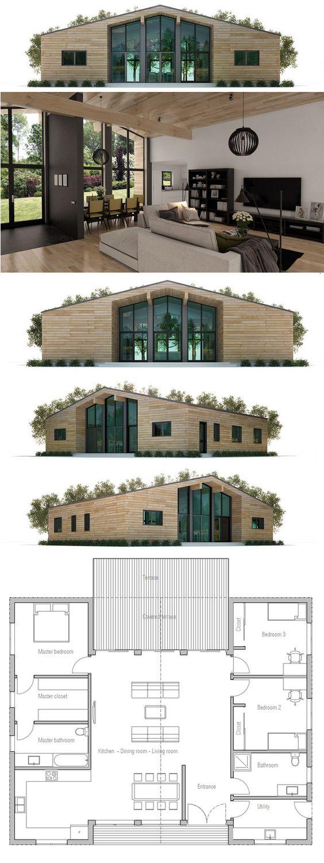 Grande maison d'architecte avec pièce à vivre centrale spacieuse